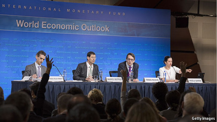 Optimistic IMF forecasts could be undone by financial woes
