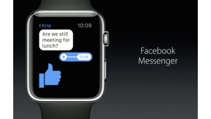 Apple Watch And Facebook Messenger