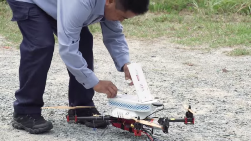 Using Drones To Deliver The Mail In Singapore