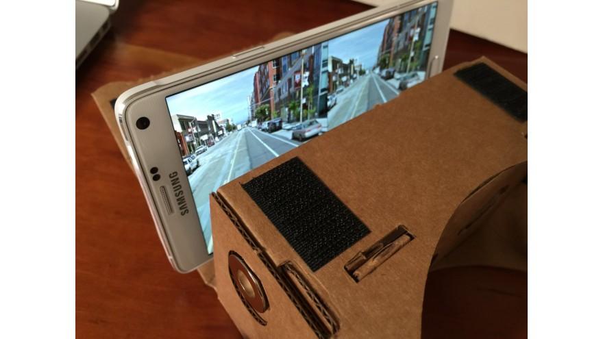Google Cardboard Homemade VR