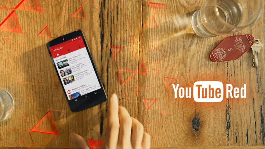 YouTube Red Bundles Media Subscription