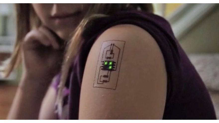 Tattoo that turns art into cardiac monitor