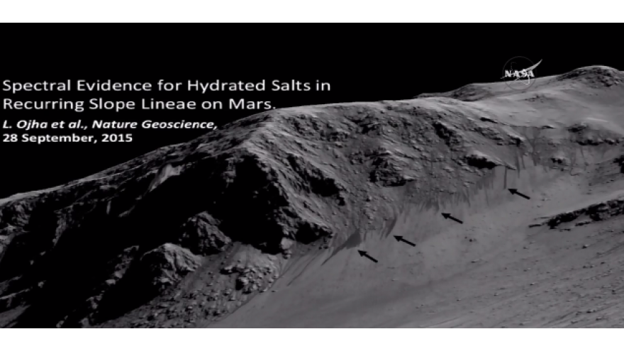NASA Finds What It Thinks Is Liquid Water On Mars