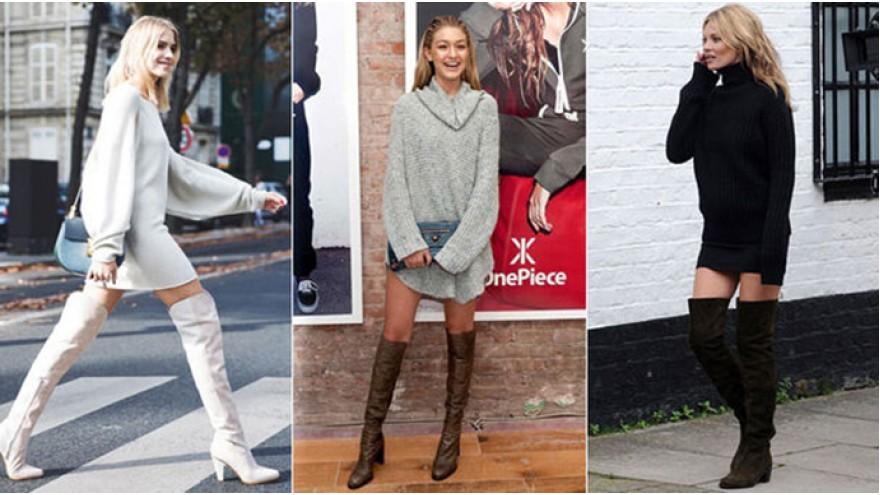 Fashion go without pants - Lampshading