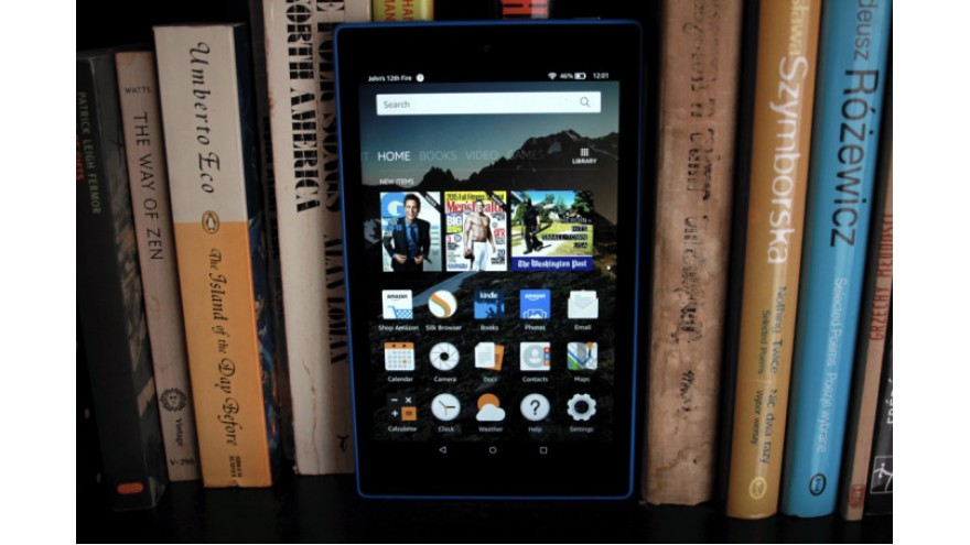 Amazon's New Fire HD 8 Adds Removable Memory And More