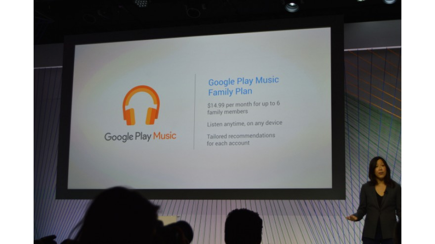 Google Introduces Google Play Music Family Plan, $14.99 For Up To 6 People