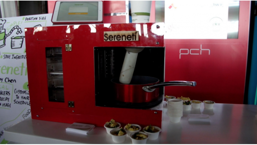 Sereneti Kitchen Robot Cooks So You Don't Have To