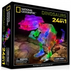 National Geographic Dinosaurs 24in1 LASER PEGS
