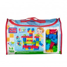 Mega Bloks -first builders. 160 pcs MB8001