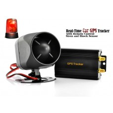 GPS Car Tracker Alarm with Real-Time Tracking
